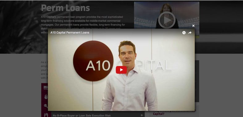 A10 Capital Work Example #4