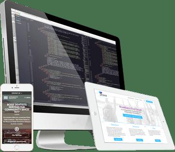 Web Design Mockup Devices